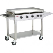 BeefEater Clubman 4 Burner Gas Stainless Steel BD16440