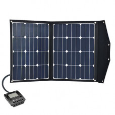 Solar Foldable Module Kit Phaesun Fly Weight 2X40 Premium Inclusive Charge Controller with LCD Display